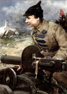 Russian Civil War. Red Army.