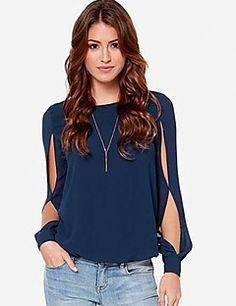 Givenchy&cor sórdida ajuste solto blusa de uma mulher