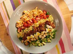 Get BBQ Salmon Cobb Salad Recipe from Food Network