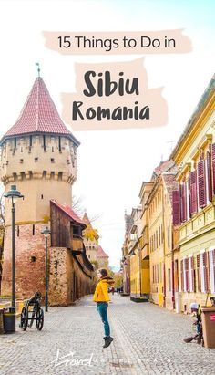 If you are staying in Bucharest for a few days and want to visit Romania and its cute towns, schedule in a day trip a few hours up North. There are plenty of things to do in Sibiu. Cool Places To Visit, Places To Travel, Places To Go, Instagram Inspiration, Travel Inspiration, Travel Tours, Travel Destinations, Shopping Travel, Budget Travel
