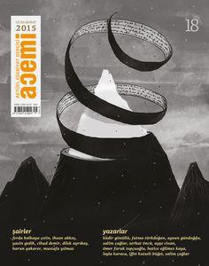Acemi edebiyat dergisi kapak illüstrasyonu sayı-18