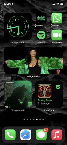 Many Men, The Weeknd, Facetime, App Icon, Homescreen, Rihanna, Goats, Wallpapers, Iphone