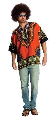 [Mens Halloween Costumes] Rubie's Costume Heroes And Hombres Men's Hippie Shirt And Wig, Orange, X-Large >>> You can get more details by clicking on the image. (This is an affiliate link) Costume Halloween, Halloween Fancy Dress, Link Halloween, Spirit Halloween, Halloween Ideas, Halloween Makeup, 1960s Costumes, Adult Costumes, Easy Costumes