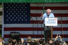 Bernie Sanders: 'This is not the time for a protest vote' >>> He is correct.  Neither 3rd party candidate has any real chance, so either Trump or Clinton will win.  The choice is up to voters.