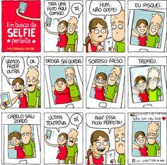 A #selfie perfeita rara é bem por aí!!! ;)