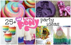 25+ DIY My Little Pony Party Ideas