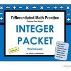 math worksheet : additive inverse worksheets  math practice single variable  : Additive Inverse Worksheets
