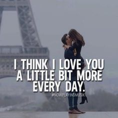 I think I love you a little bit more every day. Like and comment if you want this! ➡️ @npmusik for more! #nowplayingmusik