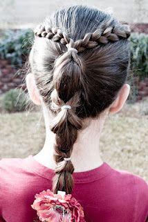 That's A Wrap hairstyle @ Princess Piggies