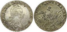 Brandenburg-Preußen - Taler 1785 E, Königsberg - Friedrich II.