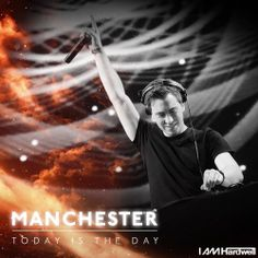 Ready for I am Hardwell Manchester!