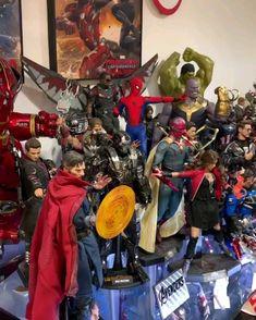 Hot Toys Marvel Avengers Infinity War Iron Man Mark L 50 Diecast Scale Figure Marvel Room, Marvel Art, Marvel Avengers, Avengers Movies, Lego Marvel, Marvel Films, Marvel Memes, Marvel Characters, Marvel Cinematic