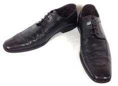TOO-BOOT-Shoes-LEATHER-Black-OXFORDS-Split-Toe-NEW-YORK-Dress-MENS-13-M