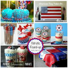 Patriotic Round-up of recipes and craft ideas