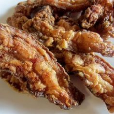 Country Fried Floured Bacon Recipe Breakfast and Brunch with thick-cut bacon, cream, flour, salt, ground black pepper, white sugar, vegetable oil