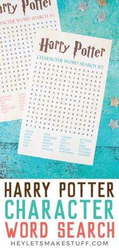 Harry Potter Character Word Search Harry Potter Character Word Search The Country Chic Cottage DIY Cricut crafts recipes decor countrychiccott Printables Throwing a Harry nbsp hellip potter Valentine for kids Valentine for kids Party Harry Potter, Harry Potter Library, Harry Potter Classes, Harry Potter Free, Harry Potter Games, Harry Potter Classroom, Harry Potter Printables, Harry Potter Baby Shower, Slytherin Harry Potter