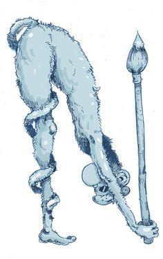 Art Monkey: N | The Art of Molly Crabapple