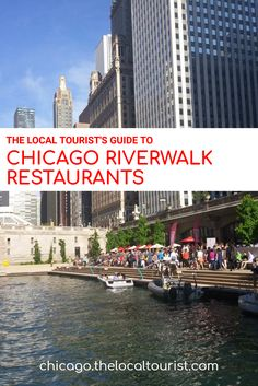 The Chicago Riverwalk is one of the city's must-visit summer destinations. Located on the south side of the Chicago River, in addition to renting boats and cycles you can also find places to dine. Restaurants line the walkway from Clark Street to east of Michigan Avenue, nearly to Lake Shore Drive.   From west to east, we've got every restaurant on the Chicago Riverwalk, so you can plan your waterfront dining with ease.