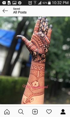 New and Simple Collection of Mehandi Design - Brain Hack Quotes Round Mehndi Design, Indian Henna Designs, Full Hand Mehndi Designs, Mehndi Designs For Girls, Mehndi Design Photos, Mehndi Art Designs, Mehndi Images, Wedding Henna Designs, Engagement Mehndi Designs
