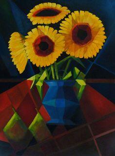 Výsledek obrázku pro cubist roses