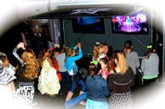 Hitting the dance floor!