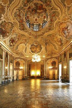 Beautiful Places...Palazzo Biscari, Catania, Sicily, southern Italy, photo by Studio Randazzo Ingegneri e Architetti.