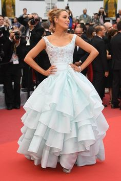 Blake Lively Wore a Cinderella Ballgown at the 2016 Cannes Film Festival | Glamour