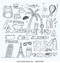 travel doodle - Google Search