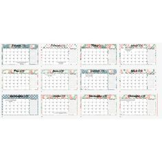 Calendriers mensuels 2018 Periodic Table, Monthly Calendars, Periodic Table Chart, Periotic Table