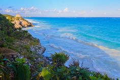 Tulum Mexico in Late Afternoon Light