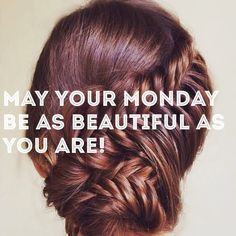 Happy Monday!  Make it a beautiful one!  #bloout #blowdrybar #blowdry #blowout #hairgram #hairpost #Monday #phillyhair #philadelphia #fb #twitter