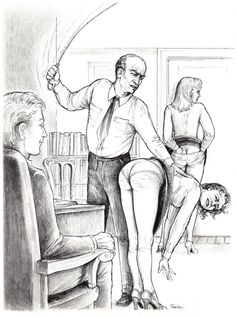 Teaching him how to discipline women. First with the daughter then the Mother