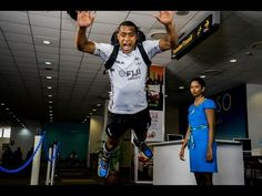 """7 Tips on How to Fly Like A Fijian - """"Fiji Airways are proud sponsors of Fiji Rugby and the Vodafone Fiji Sevens team, and we wanted to work with them to help educate passengers on the simple things they can do to ensure the smoothest flying experience. By keeping in mind these seven tips, everyone's a winner when they fly,"""" said Stefan Pichler, Fiji Airways Board Director. #Fiji #FijiAirways #Travel #Flying"""