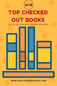 Top Checked Out Books by Kellee's Middle School Readers from her Classroom Library