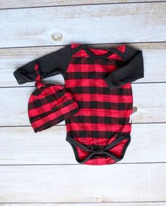 Pre Order Lazy One Moose Plaid Babyonesie Creepers