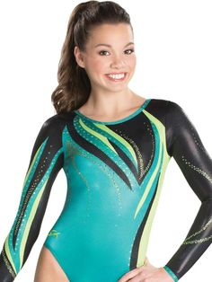 Dancing Flame Competition Leotard from GK Elite