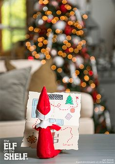 Elf On The Shelf Ideas | Treasure Hunt
