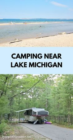 see the post for more! michigan camping ideas. rv camping. tent camping. campground near lake michigan beach, great lakes camping. michigan road trip, midwest summer vacation. national lakeshore park vacation ideas. us outdoor travel destinations. vacation spots, places in the US. michigan things to do near traverse city, leelanau peninsula, up north. Lake Camping, Camping Michigan, Michigan Travel, Tent Camping, Summer Vacation Spots, Vacation Places, Vacation Ideas, Lake Michigan Beaches, Michigan Vacations