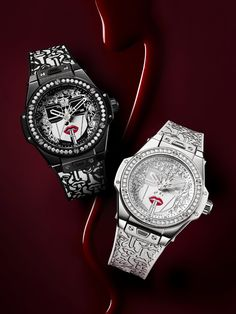 Hublot Big Bang One Click Marc Ferrero - Artistes du Temps How To Make Lipstick, Swiss Watch Brands, Love Magazine, Limited Edition Watches, Big Bang, Patek Philippe, Audemars Piguet, Yohji Yamamoto, Red Lipsticks
