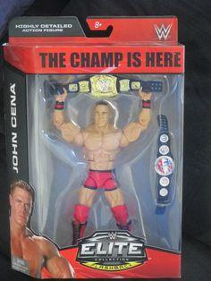"John Cena WWE Mattel Debut Flashback ""The Champ Is Here"" TRU Elite Figure-NIB  #Mattel"