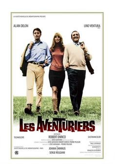 Les Aventuriers - #AlainDelon #LinoVentura