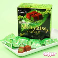 Meltykiss Winter Green Tea Chocolates