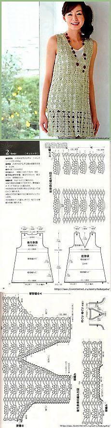 Туника. Вязание.