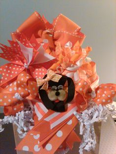 Perfect gift for me! A bouquet of hairbows, I love it!!!