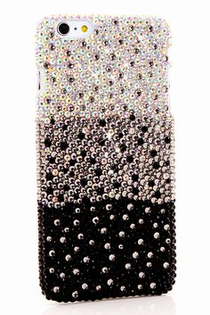 Cute girly bling iphone 6 fade to black design case protective phone cover pearl New Iphone 6, Bling Phone Cases, Iphone Cases Disney, Fade To Black, Cat Treats, Design Case, Girly, Phone Covers, Phone Chargers