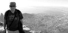 Top of Table Top Mountain in Cape Town, South Africa.