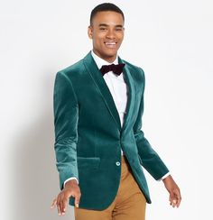 Introducing The Black Tux 2018 holiday collection Layer Cake) Gold Tuxedo Jacket, Black Tux, Green Velvet Jacket, Teal Suit, Velvet Shawl, Yellow Pants, Special Occasion Outfits, Passion For Fashion, Menswear