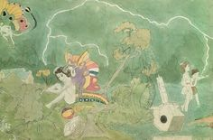 henry darger - outsider art. Love the fact that he created a whole story of these girls