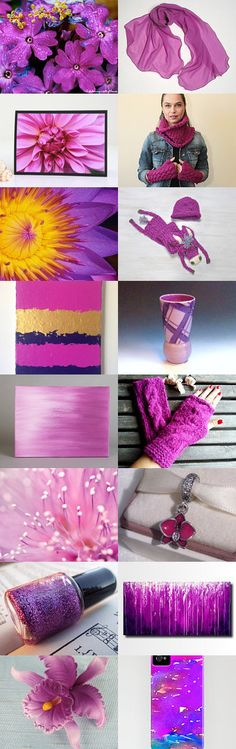 Radiant Colors to Brighten Your Day by Carla on Etsy--Pinned with TreasuryPin.com