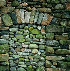 Walled up north window... to keep trouping faeries from coming through the house.